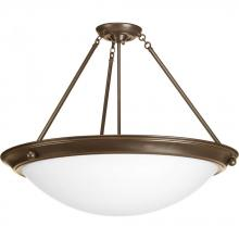 "Progress P7320-20WB - Eclipse Collection Four-Light 27-3/8"" Close-to-Ceiling"