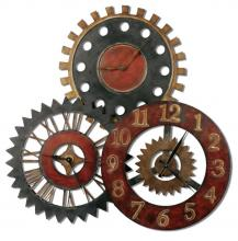 Uttermost 06762 - Uttermost Rusty Movements Wall Clock